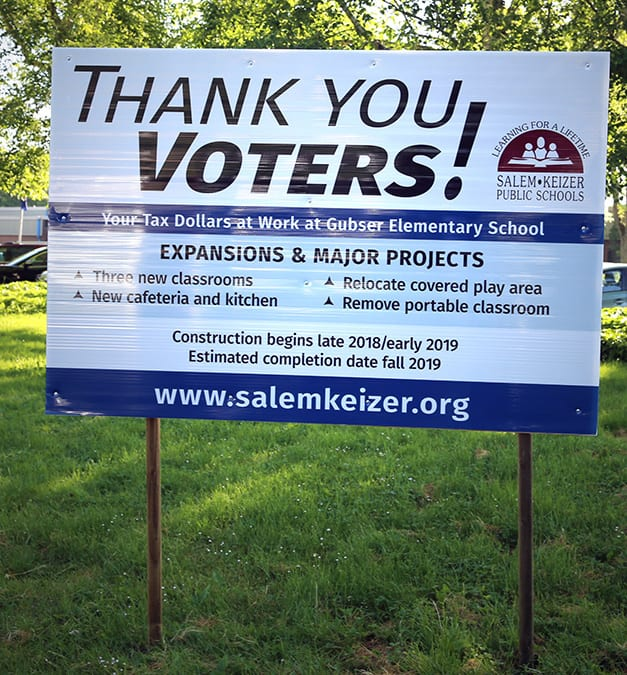 Thank You Voters! -billboard