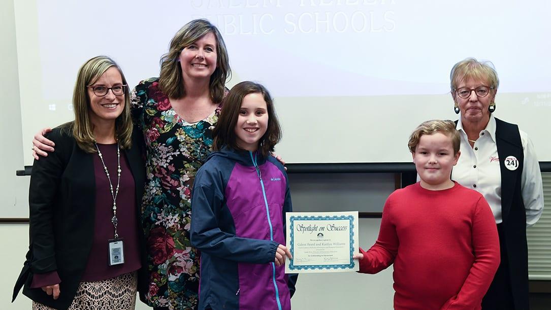 Four-grade Oregon Essay Contest Finalists 2018