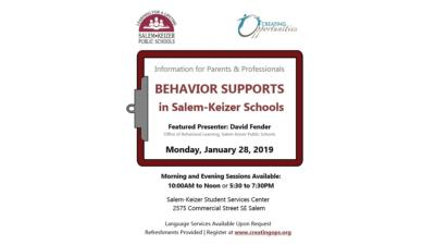 Behavior Supports in Salem-Keizer Meeting