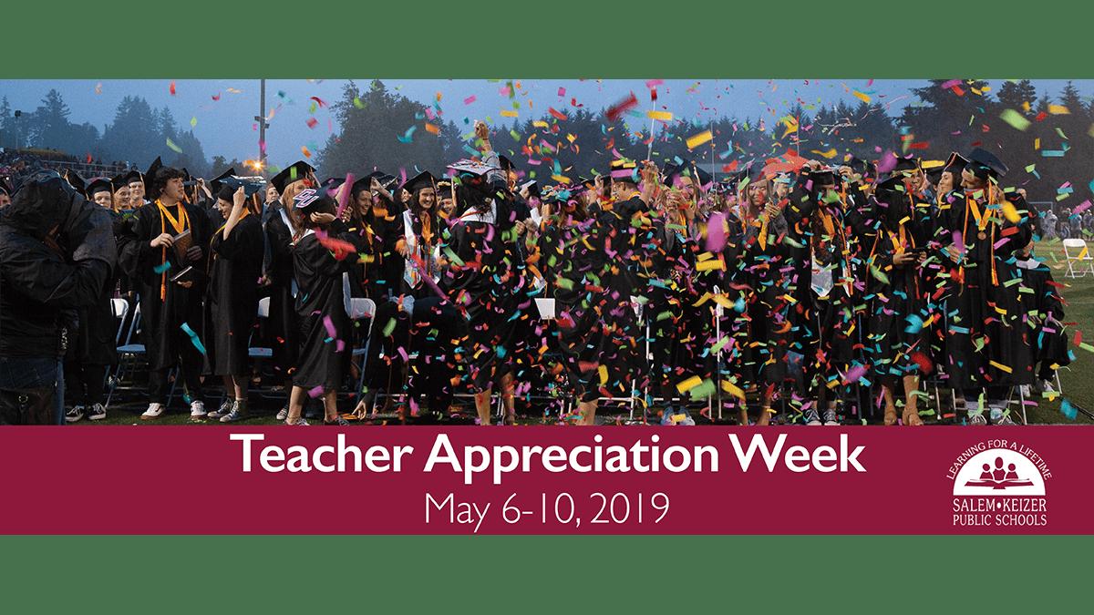 Teacher Appreciation Week 2019 Image
