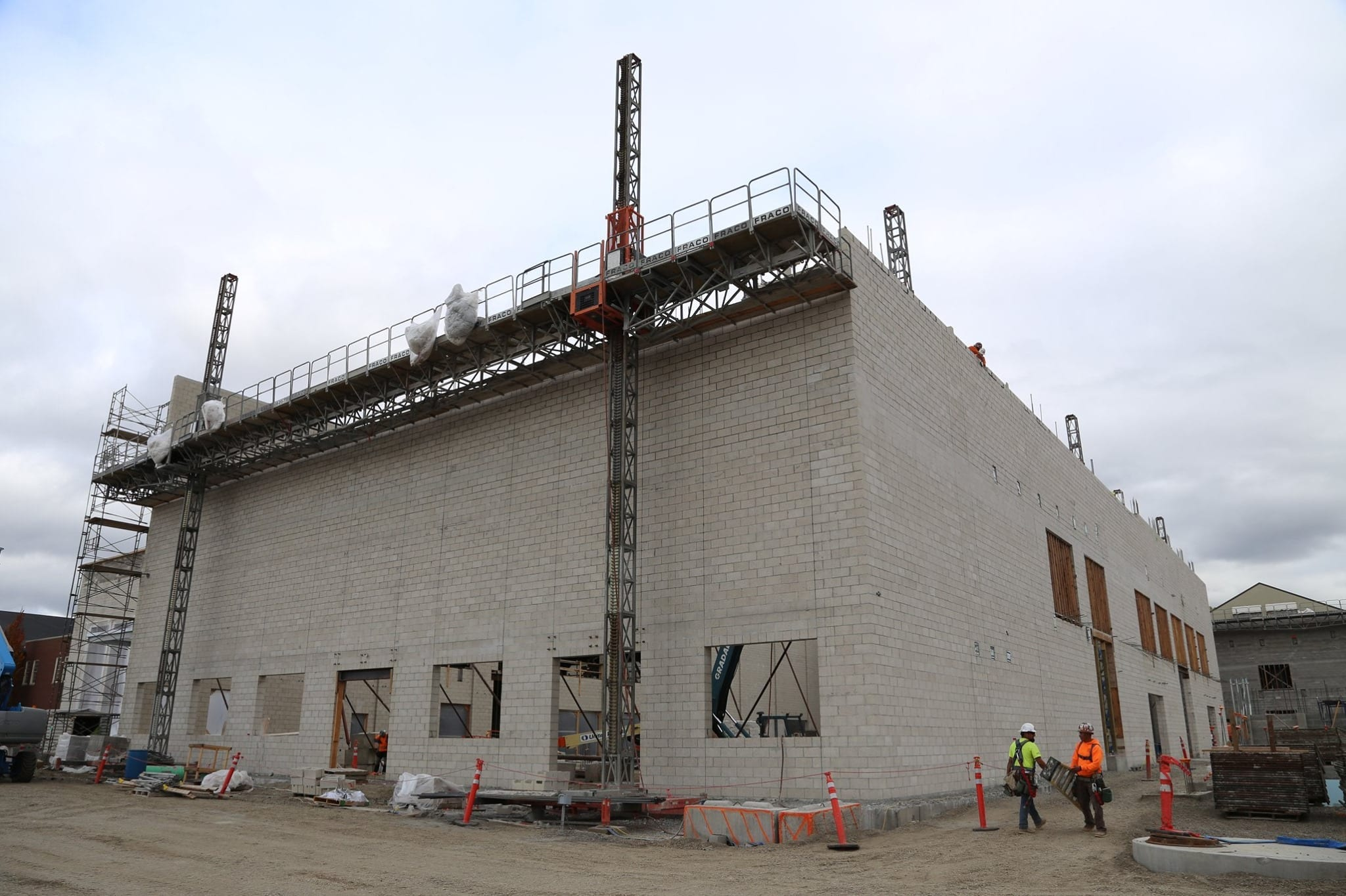 North Salem HS bond construction