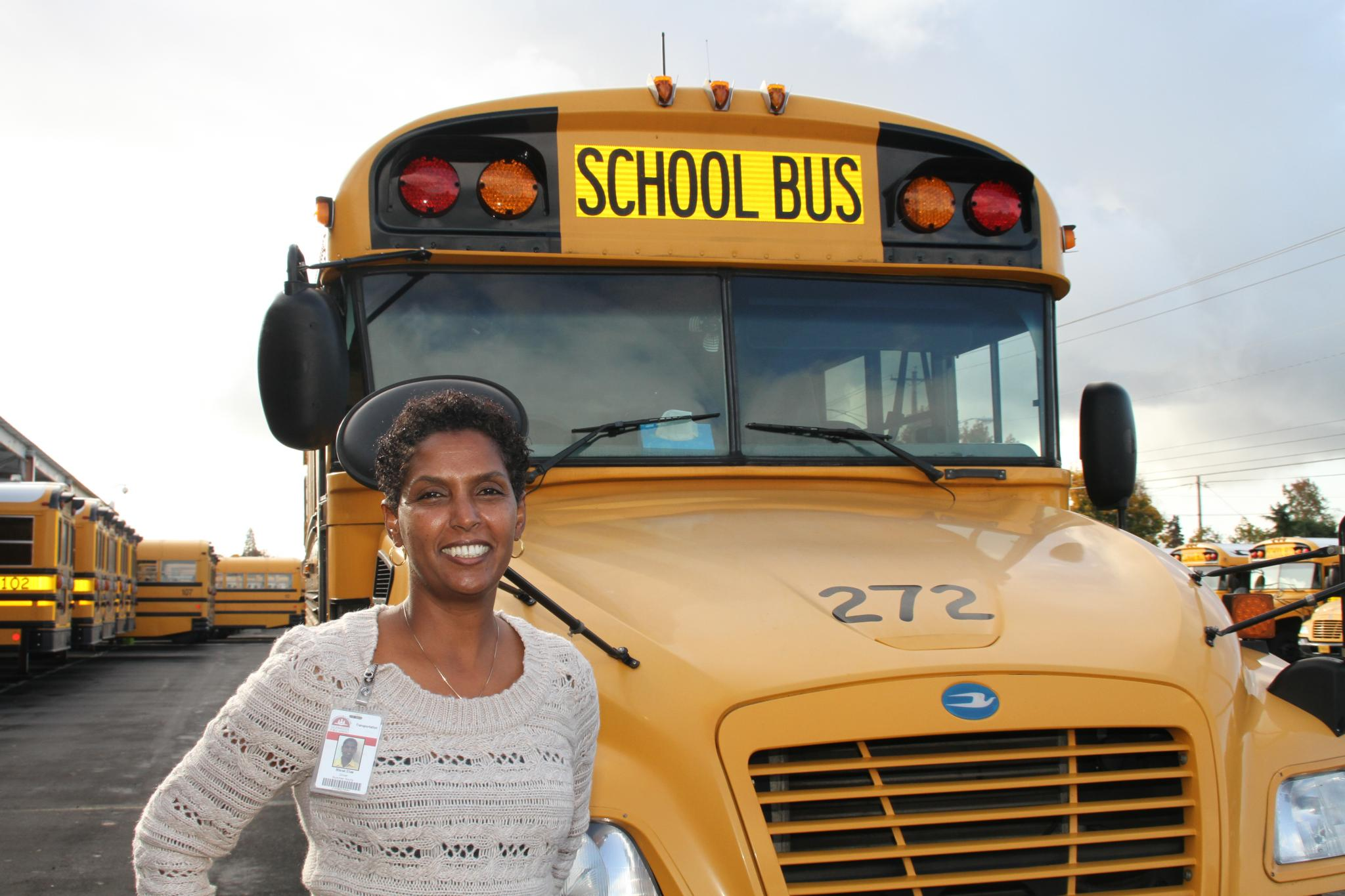 School Bus Driver Employee at Transportation Services