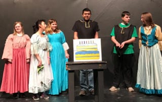 Unified Theater performance of Not Your Typical Dragon