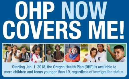 Oregon Health Plan (Now) Covers Me!