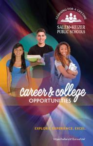 PDF of Career and Technical Education Brochure 2020-21
