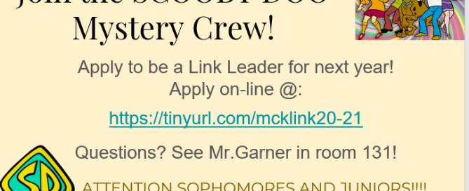 McKay LINK Application Flier 20-21