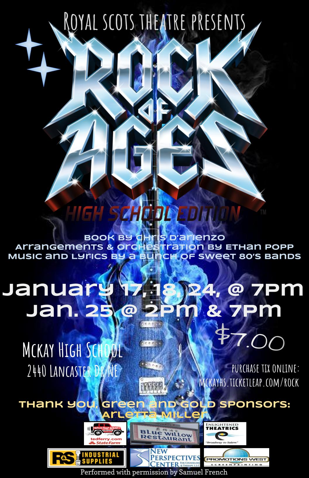 McKay Rock of Ages Poster