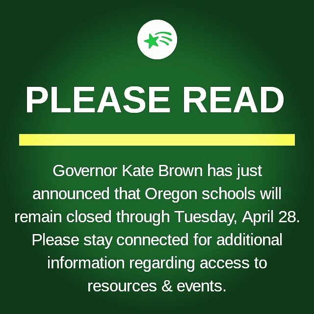 Governor Brown Extends School closure to April 28, 2020