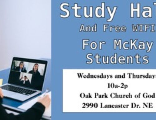 Free Wifi and Study Hall for McKay Students