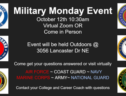 Military Monday October 12, 2020