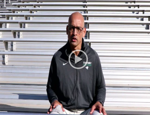 Larry Ramirez speaks! On wearing face coverings at athletic events.