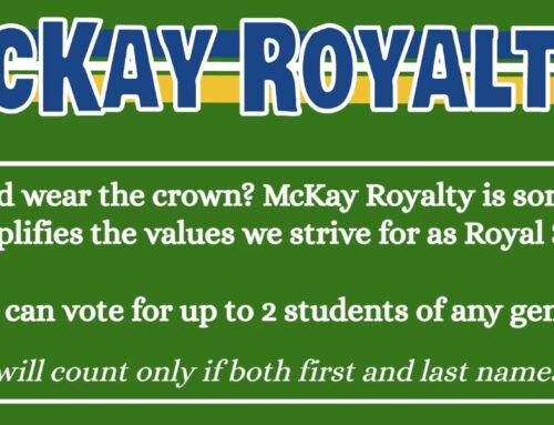 Nominations for Homecoming Court- Sept. 27-28