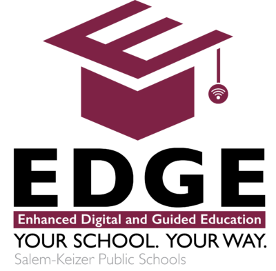 EDGE Enhanced Digital and Guided Education Logo