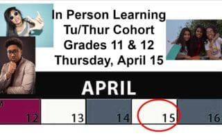 Image In Person Learning Tu/Th Cohort Gr 11 & 12