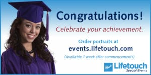 Image representing graduation portrait orders from Lifetouch Photograph