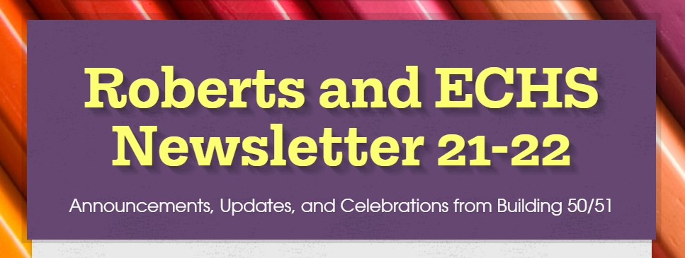 Roberts and Early College High School Weekly Newsletter
