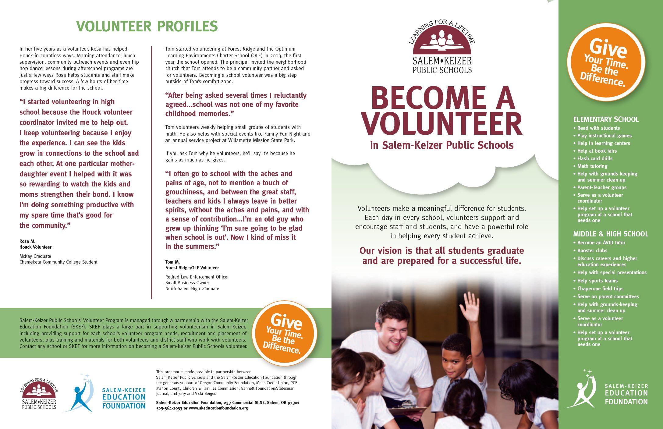 SKEF Volunteer Brochure
