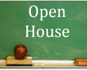 Open house in person