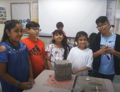 Bush Elementary Students Create Sculptures Based on Family Origins