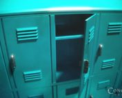 empty lockers