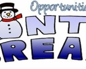 Winter Break Opportunities