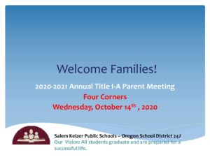 PDF of Annual Title 1 Meeting - English