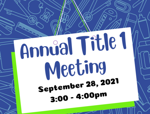 Title 1 Meeting/Reunion Titulo 1