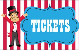 Ringmaster next to the work Tickets