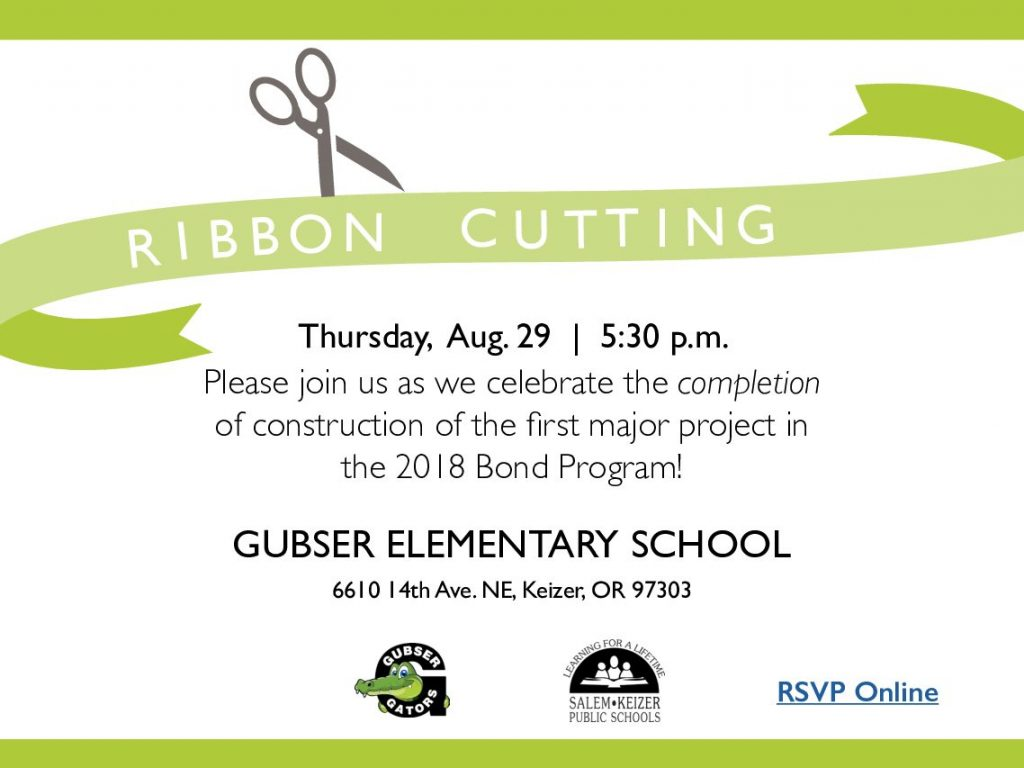 Gusbser Ribbon Cutting