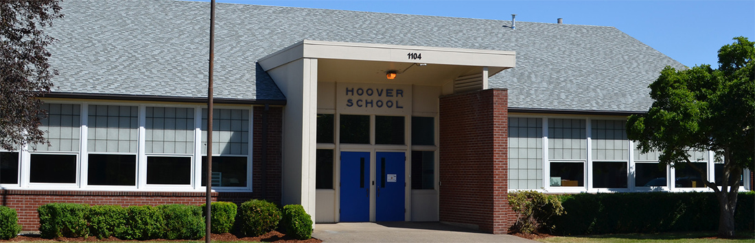 Hoover Elementary front exterior