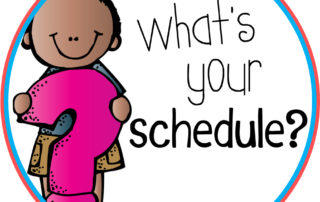 What's Your Schedule?