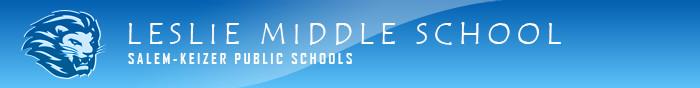 Leslie Middle School Logo