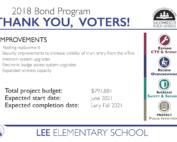 Lee bond info