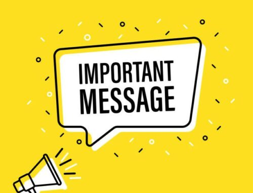 Important Message | Mensaje Importante