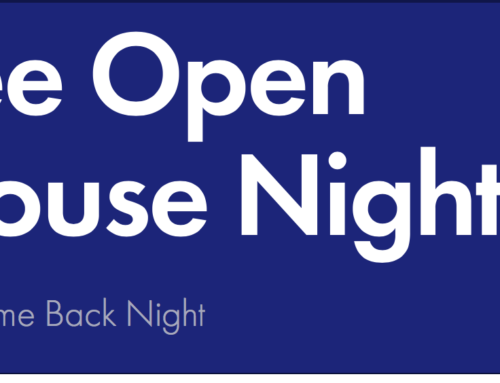 Open House Night – Tuesday, Sept. 7, from 5-6 p.m.
