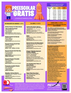 PDF of preschool information