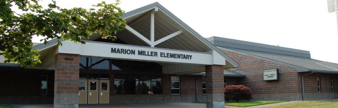 Miller Elementary front exterior