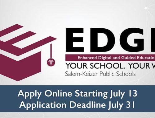 Salem-Keizer Public Schools Opens Applications for EDGE | EDGE: Educación digital guiada y mejorada