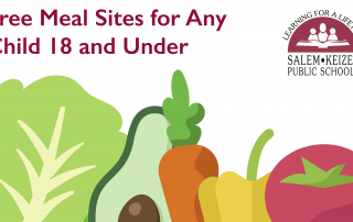 Meal Sites for Any Child or Teen 18 and Under