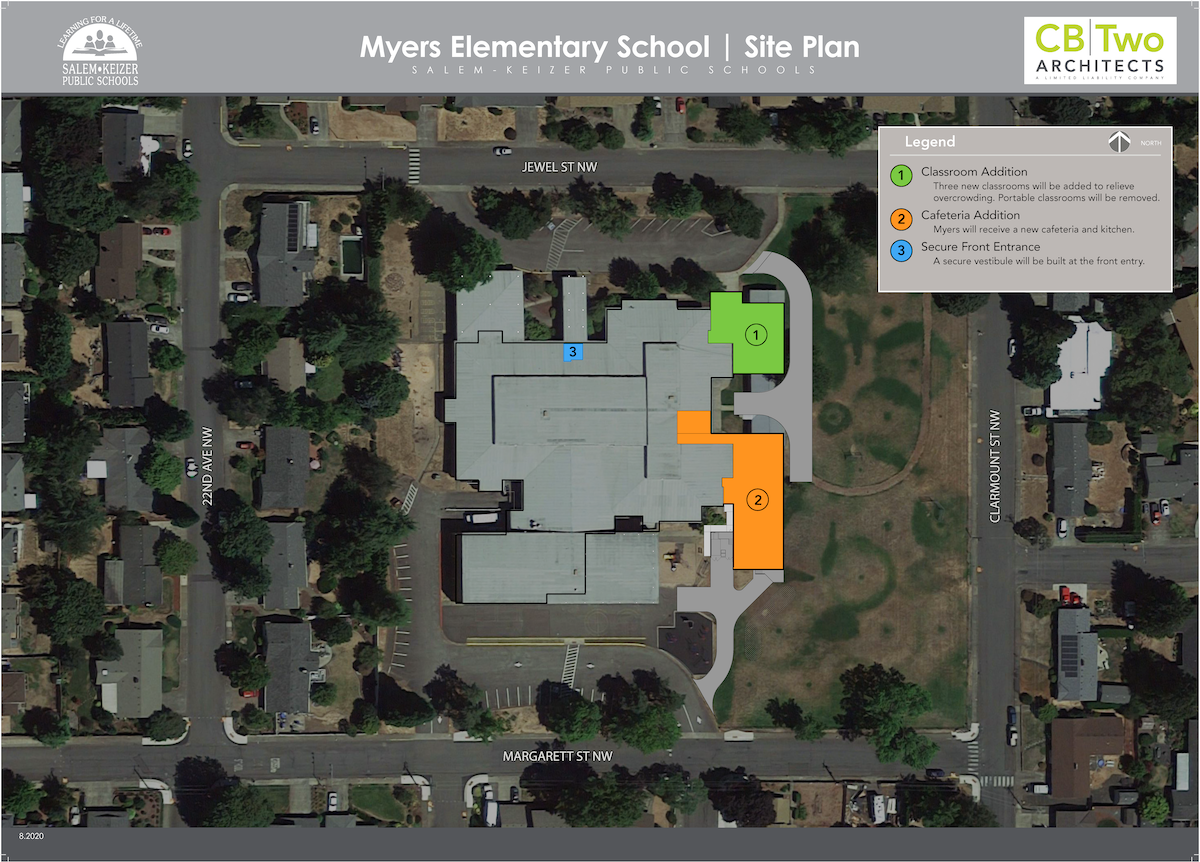 Myers site plan
