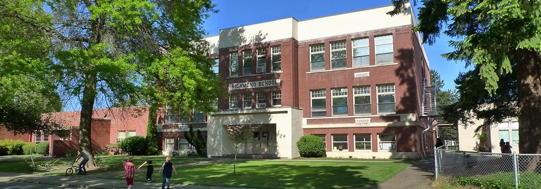 Richmond Elementary Front Exterior