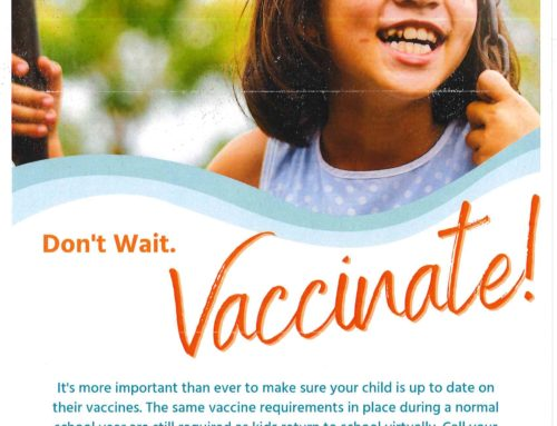 Vaccinate your students