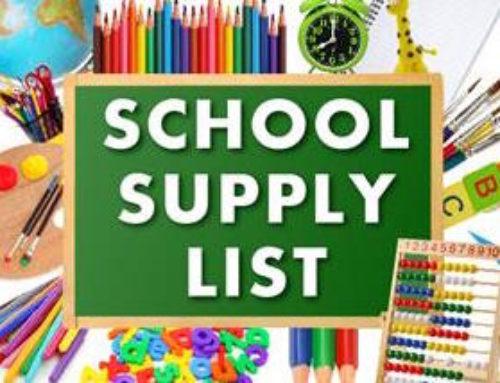 2021-2022 Salem Heights Student Supply List