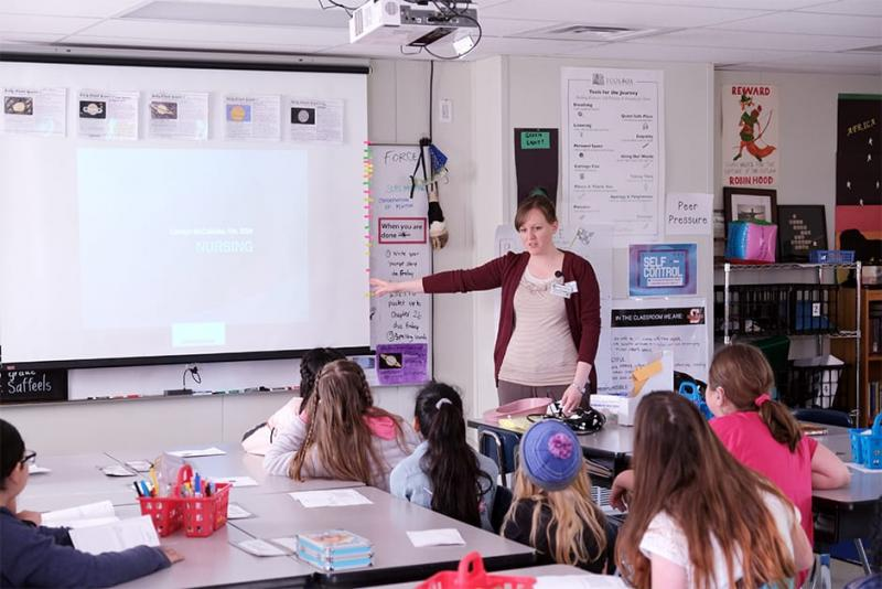 Swegle Elementary Career Week