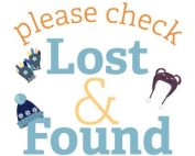 Please Check the Lost and Found