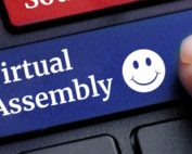 Virtual Assembly Button