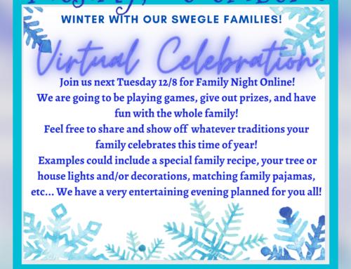 Winter Family Fun Night! – ¡Noche de diversión familiar de invierno!