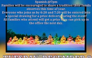 Winter Family Fun Night Description