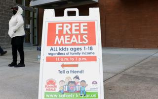 Photo of Free Meals Tell a Friend
