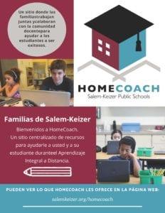 HomeCoach Spanish Flyer